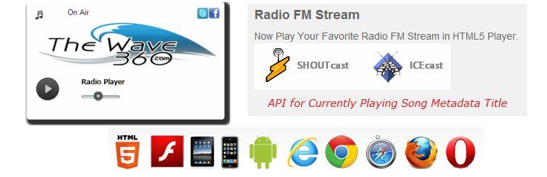 Shoutcast Icecast HTML5 Radio Player — WordPress Plugins